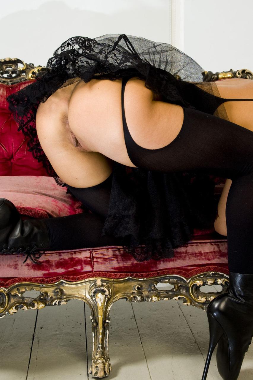 Alexa Andreas bailarina em foto de sexo